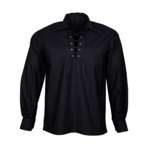 Black Jacobite Shirt