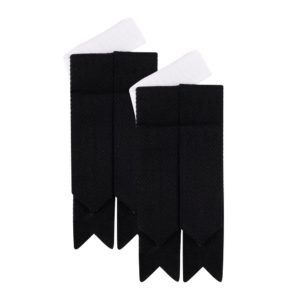 Black Plain Tartan
