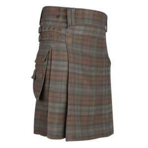 Black Watch Weathered 16 oz Tartan Utility Kilt