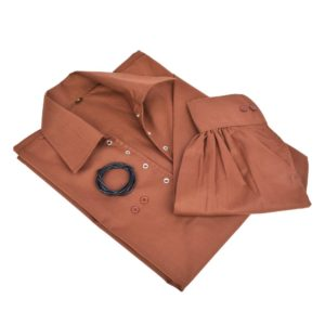 Brown Jacobite Shirt