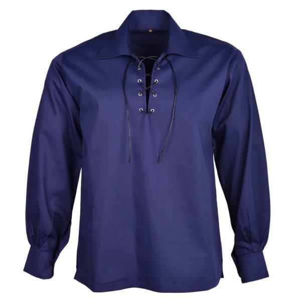 Dark Blue Jacobite Shirt