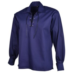 Dark Blue Jacobite Shirt