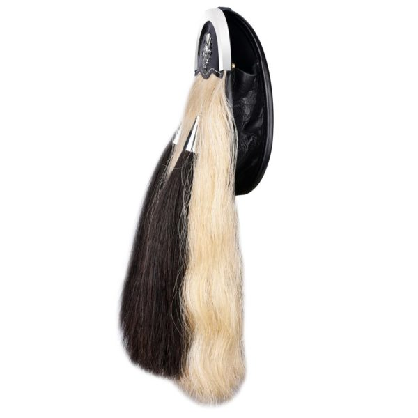 Genuine Horse 18 Inches Hair Sporran with Three Cantles 2