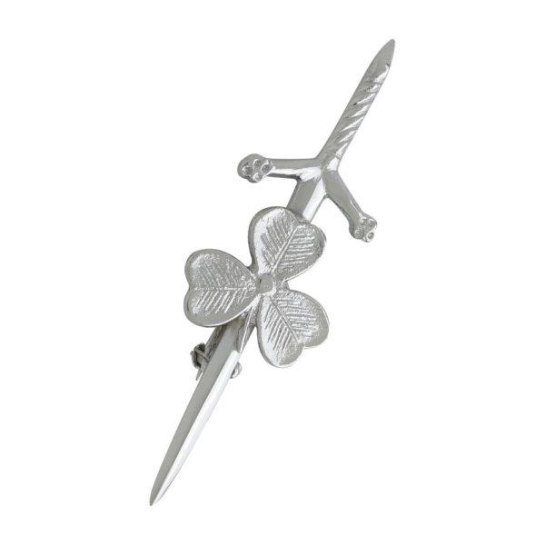 Shamrock Leaf Kilt Pin